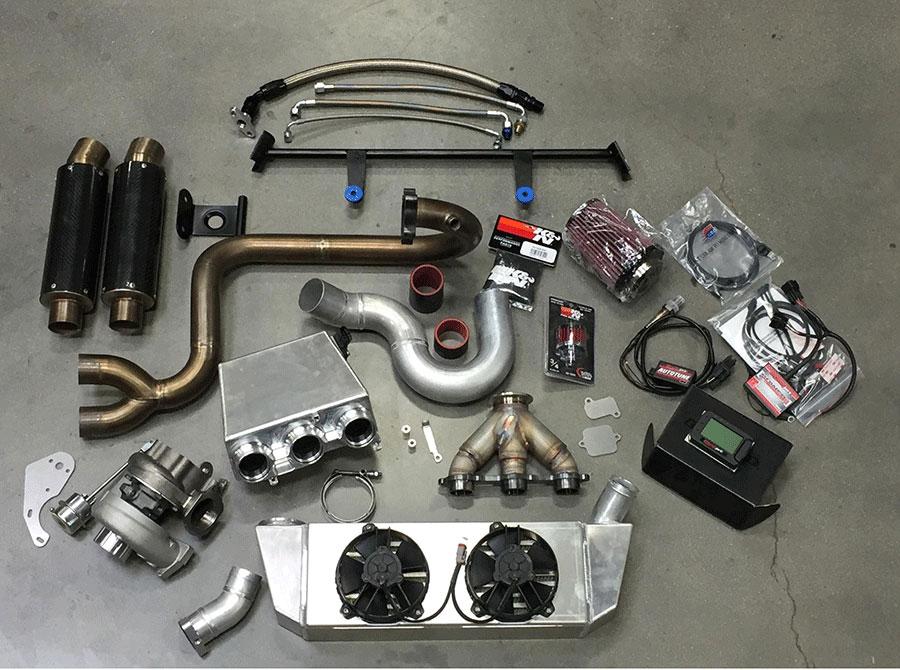 Yamaha YXZ1000R WR Edition Bolt On Turbo Kit