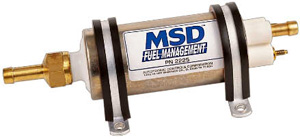 MSD High Pressure Inline Electric Fuel Pump