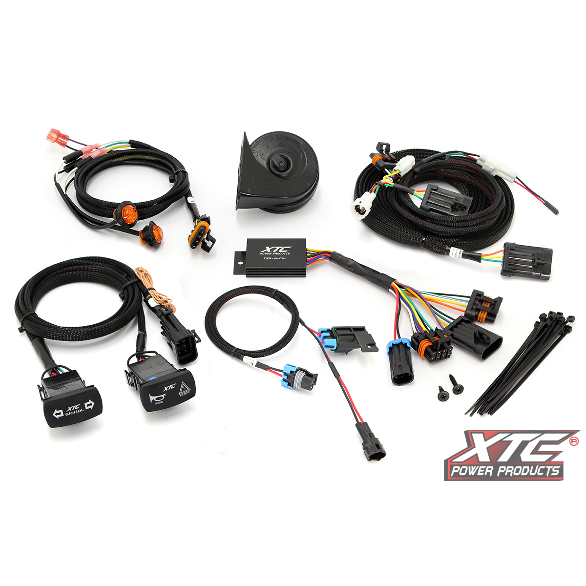 Yamaha Wolverine X2 / X4 Self Canceling Plug and Play Turn Signal System with Horn by XTC Motorsports