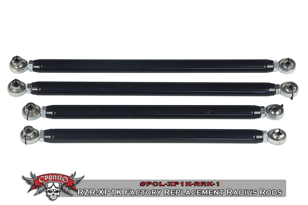 Cognito Motorsports Radius Rods (OEM length), RZR XP1000