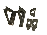 SR1 Brake Pedal Mount Bracket Kit with Res & Bias Brackets