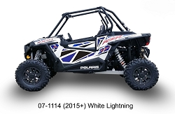 Dragonfire Door Panel Graphics - RZR XP 1000