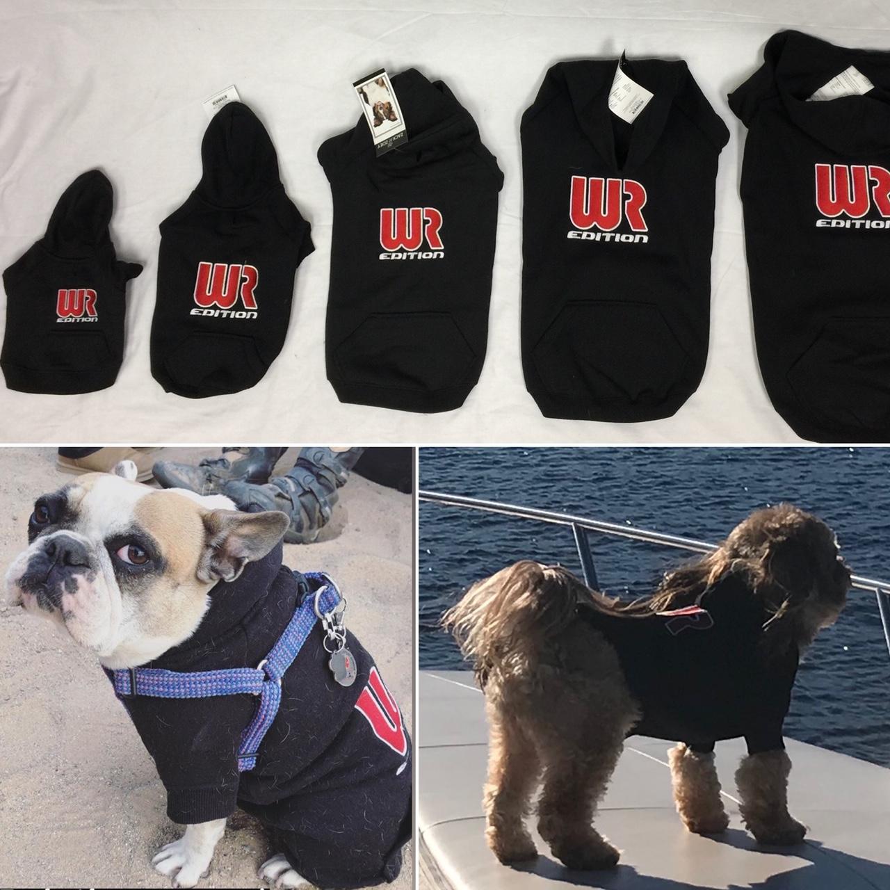 Wr Edition Dog Hoodie Black
