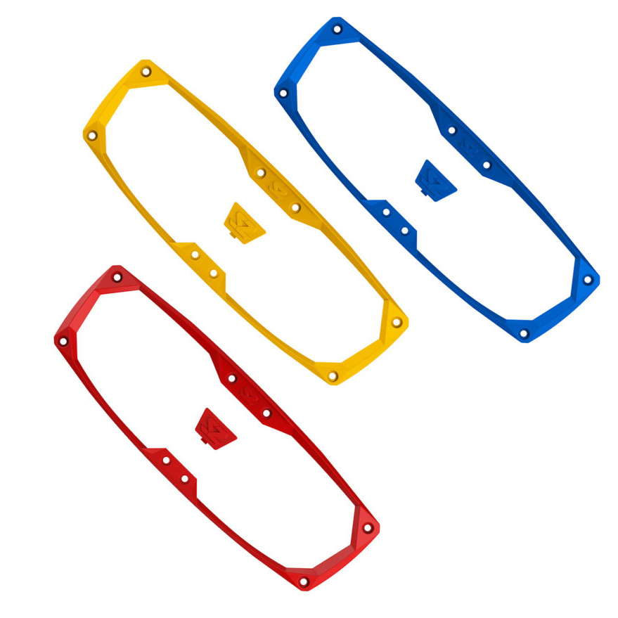 Halo-R Rear View Mirror Color Insert Kit