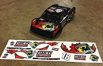 OFFICIAL 2013 CORRY WELLER PRO 4 RC TRUCK GRAPHICS KIT