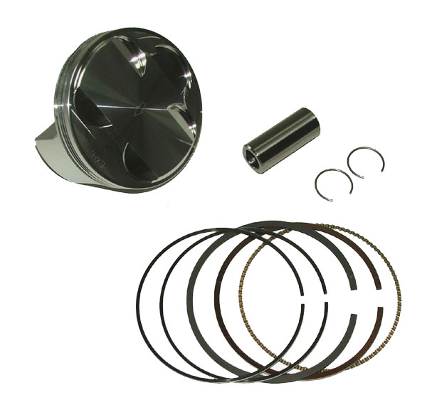 Rhino 660 JE Piston Kit 100mm, 102mm, 10:1, 11:1, 12:1