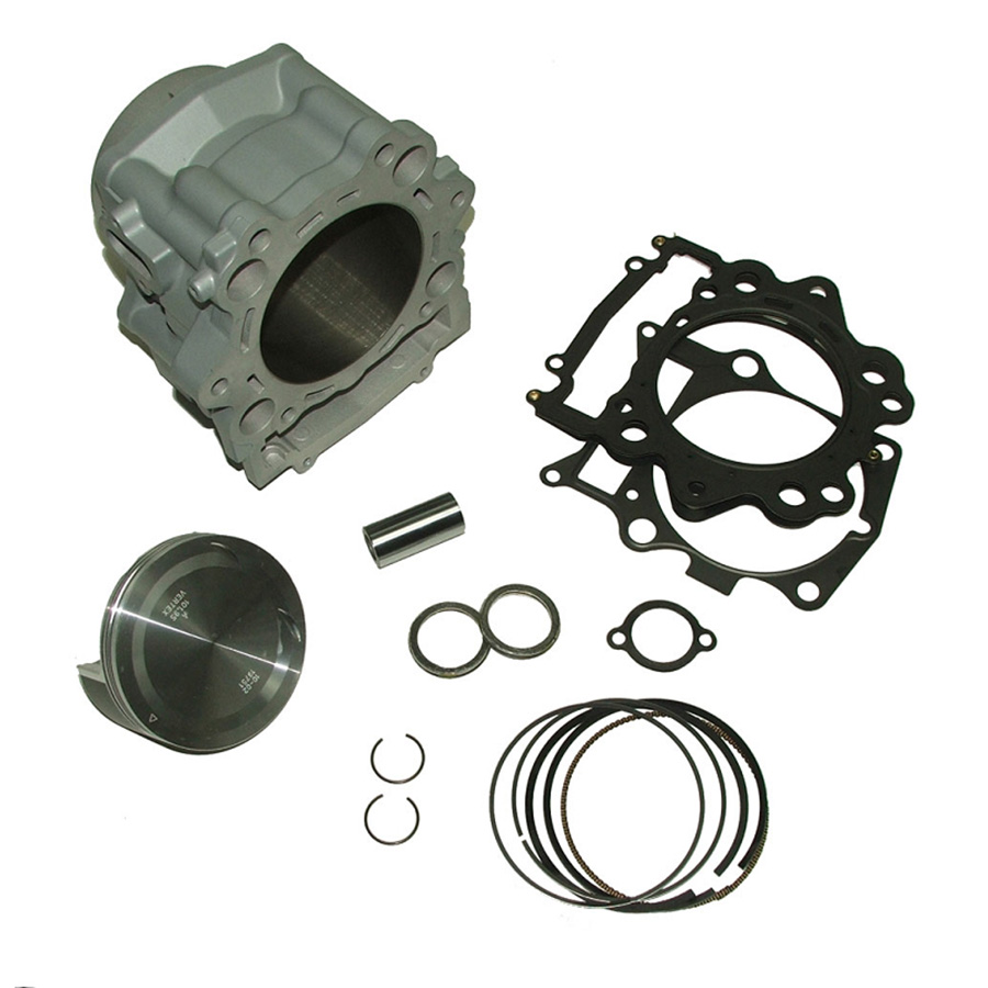 Top End Cylinder, Piston, Gasket Kit - Rhino 700 / Grizzly 700