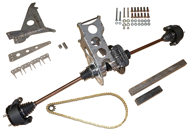 SR1 Complete Mount and Drive Kit with Big Brakes