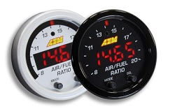 AEM Digital X-Series Air Fuel Ratio Gauge With O2 Sensor