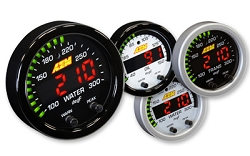AEM Digital X-series Water, Oil, Transmission Temperature Gauge