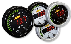 AEM Digital X-Series VOLT Gauge