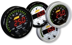 AEM Digital X-Series Boost Pressure Gauge