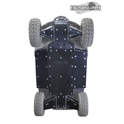 Yamaha Wolverine X2/X4 Half Inch Ultimate Skid Plate Kit by Factory UTV