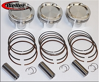 CP PISTONS 9.5:1 COMPRESSION FORGED PISTON KIT - CAN-AM X3 (EA)