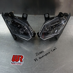 CanAm X3 Front Headlights (take off new)