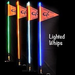 QUICKLIGHT LED WHIP WITH QUICK RELEASE MOUNT  (6 FOOT)