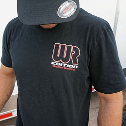 WR Edition t-shirt with front and rear logo (Black)