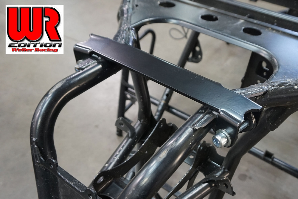 Wr Edition Rear Frame Support Plate Yxz1000r
