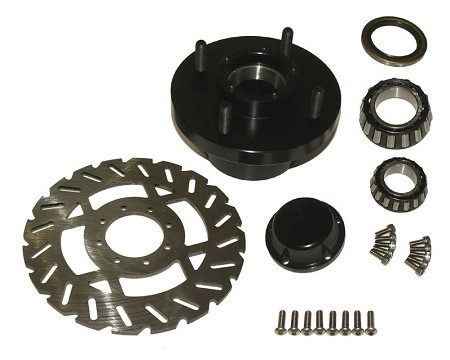 Front Billet Hub Kit (ea.)