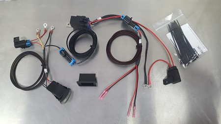 WR Edition XP Turbo Oil Cooler Wiring Kit by XTC Motorsports