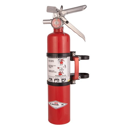 Quick Release 2.5lb Red Amerex ABC Extinguisher kit by Axia Alloys