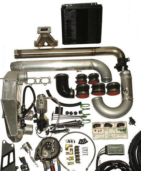 Boondocker Complete Turbo System - Polaris XP 1000