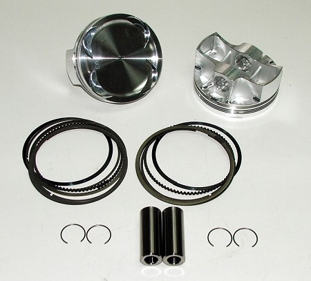XP1000 Forged Piston Kit (STD.) 93mm bore 9.5:1, 11.5:1, 12.5:1 Compression